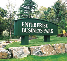 Enterprise Business Park Main Entrance Sign